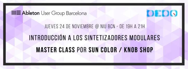 DeDO Barcelona Taller Modulares