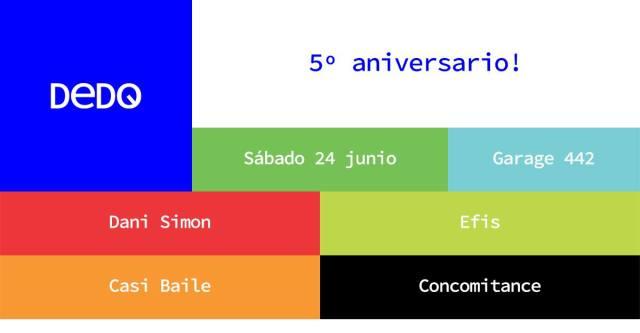 DeDO 5º Aniversario