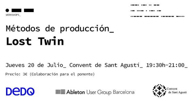Taller de producción con Lost Twin