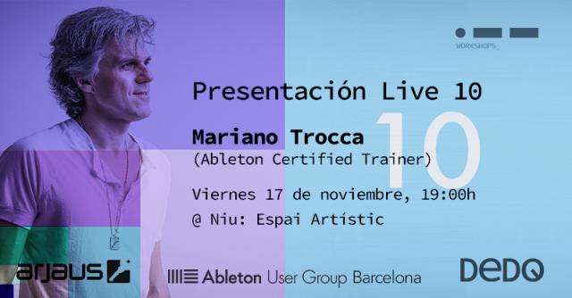 Presentación de Ableton Live 10