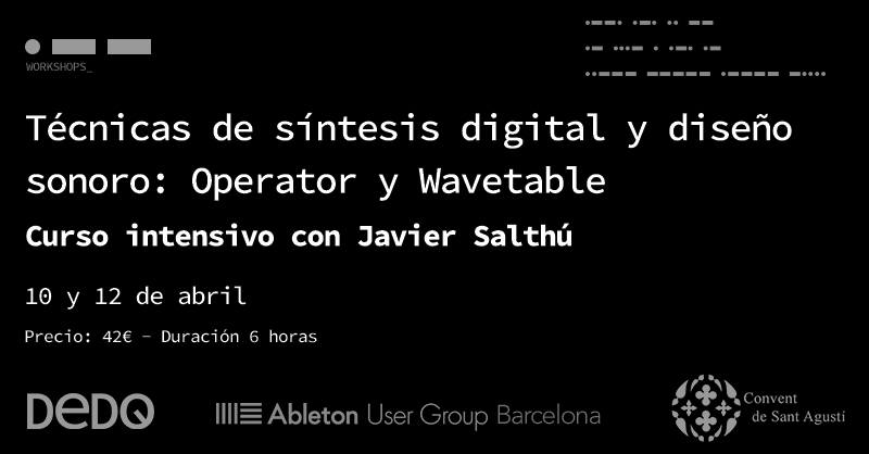 Curso sintesis digital - DeDO